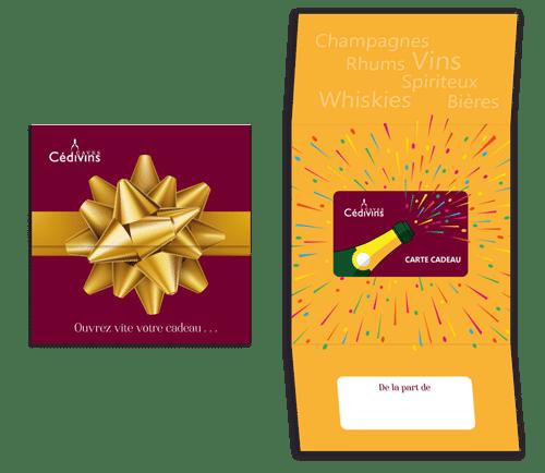 Coffret carte cadeau Cedivins