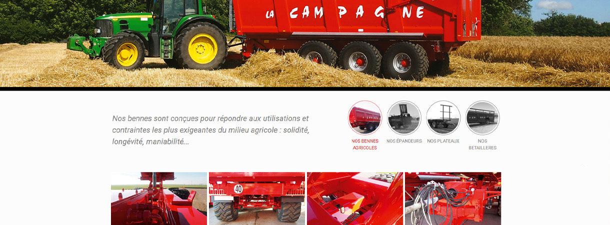 LA CAMPAGNE - Site internet