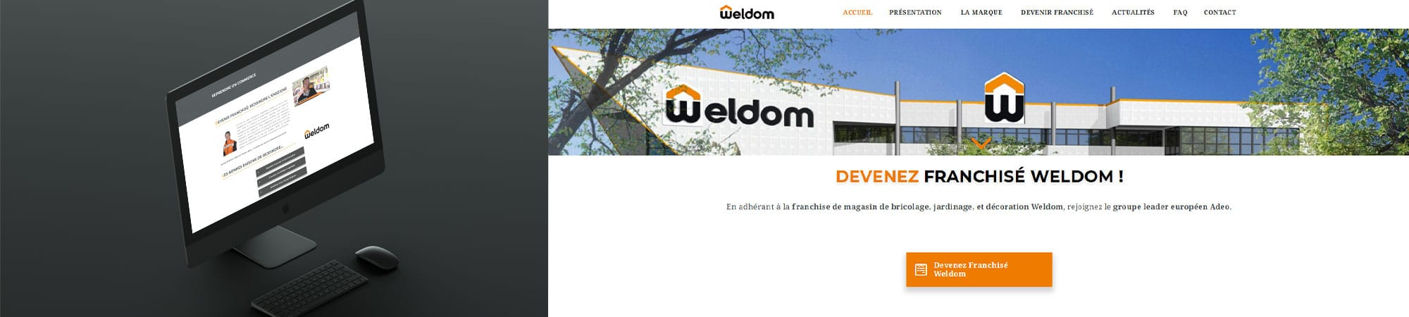 WELDOM - Site internet